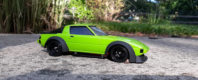 1/24 Scale RX-7 Build