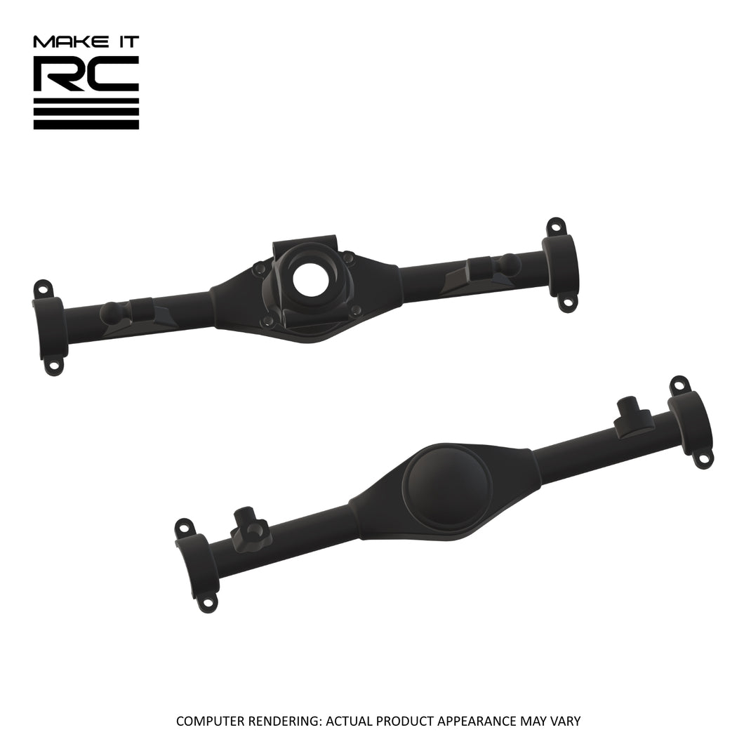 Make It RC MA10 Axle Assembly Housing Pieces Set: 57mm Torque Arm (Resin)