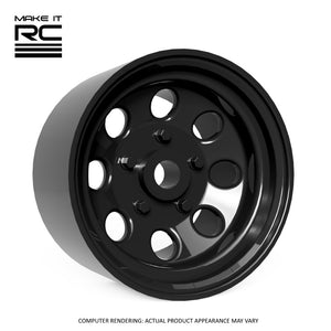 Make It RC Type 181 1/24.5 Scale Wheel 18x9mm M2 Shaft 4x1mm Hex OS -0.5mm BS 4mm