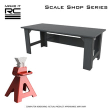 Make It RC Jack Stand and Workbench Scale Shop Accessories Combo