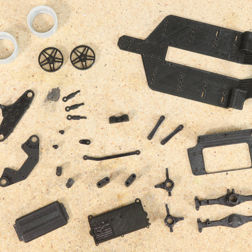 FFR SC1 for Revell 2010 Ford Mustang FDM 3D Printed Parts