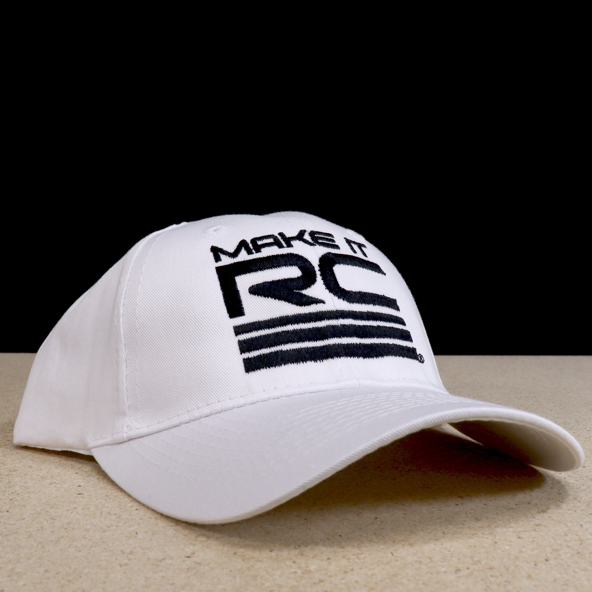 Make It RC White Ball Cap