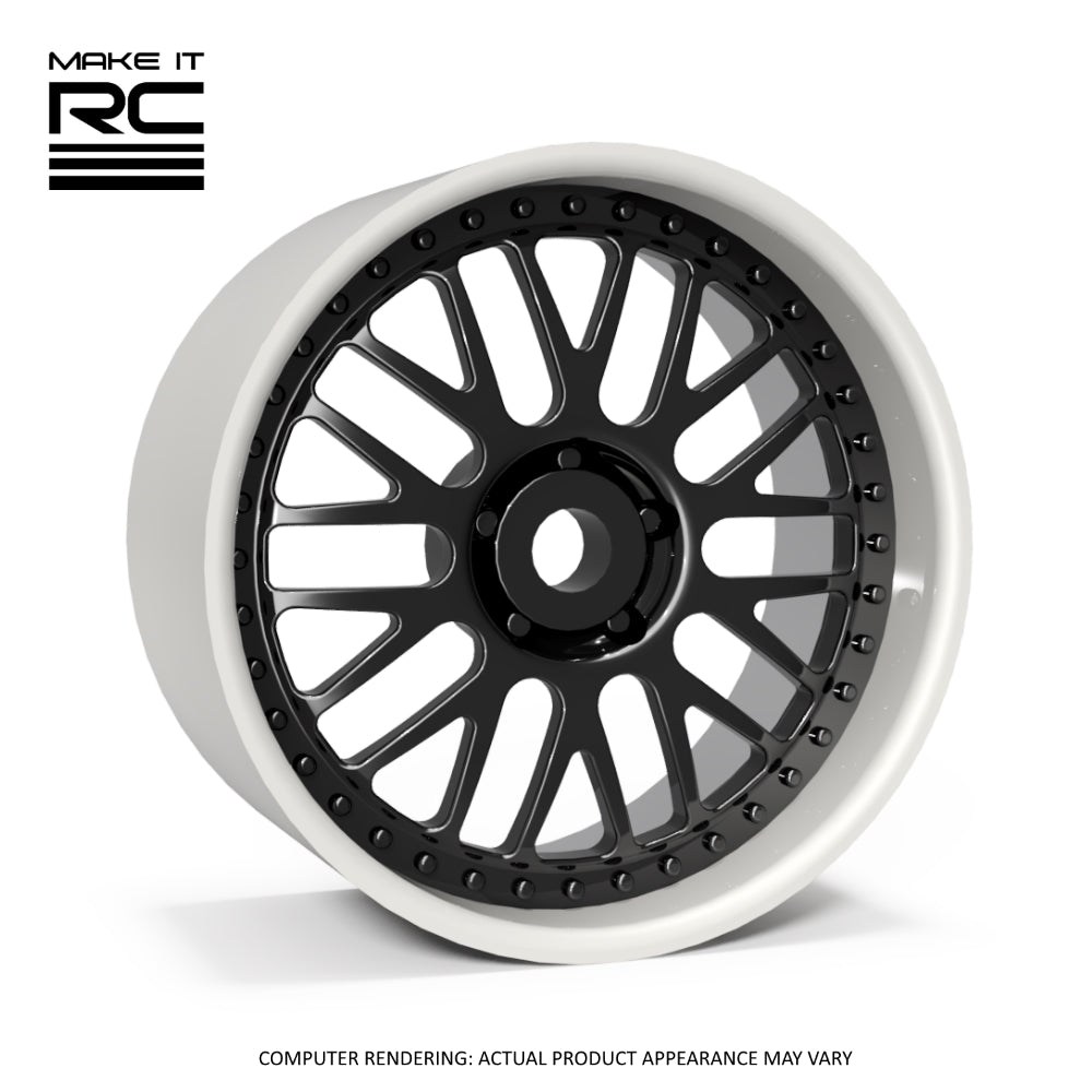Make It RC GR10 1/24.5 Scale Wheel 19x10mm M2 Shaft 4x1mm Hex OS 1mm BS 6mm