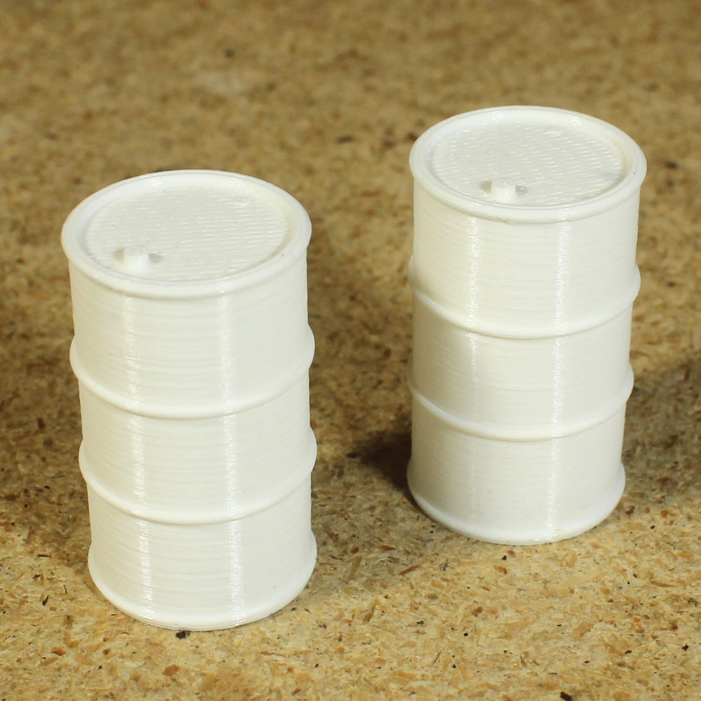 Make It RC 1//25 Scale Oil Drum Set of 2