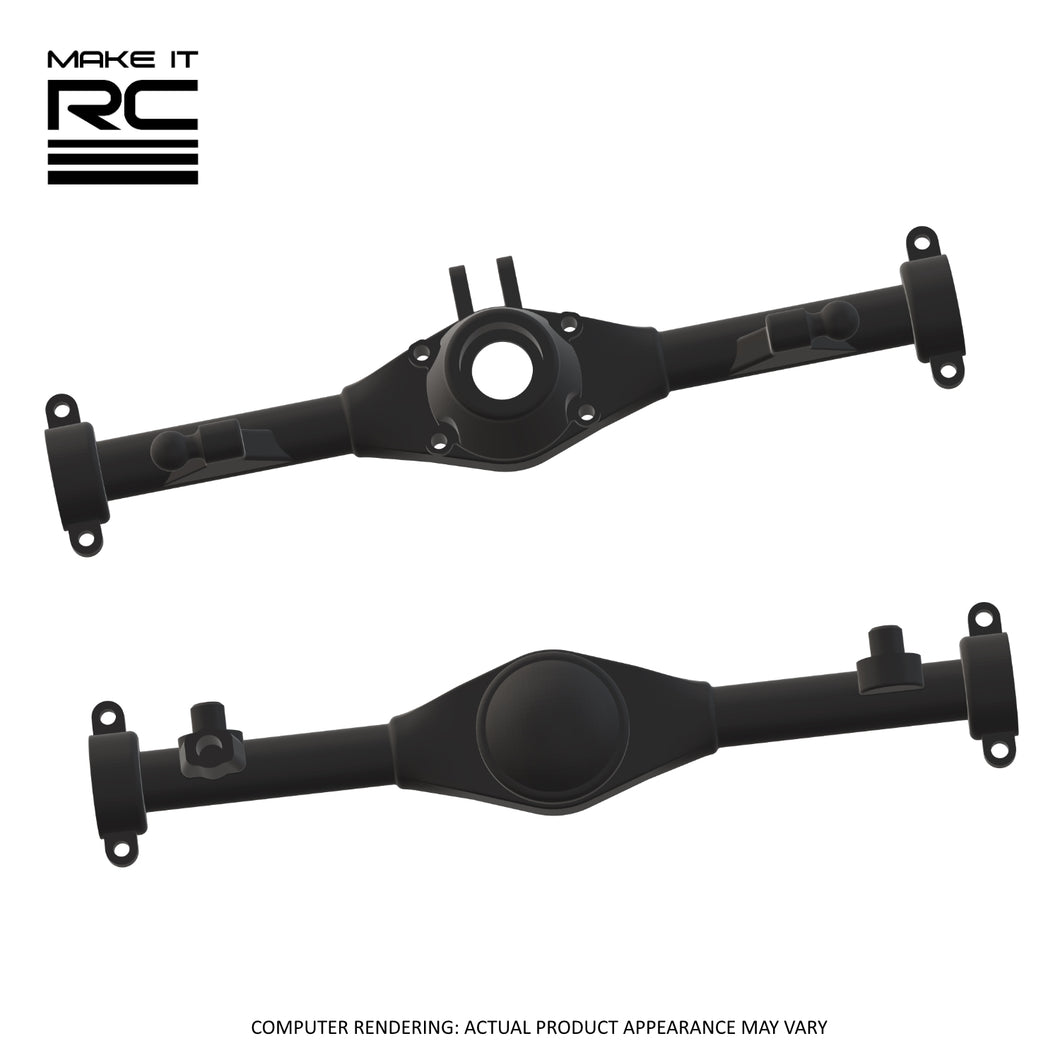 Make It RC MA10 Axle Assembly Housing Pieces Set: 57mm 3-Link (Resin)