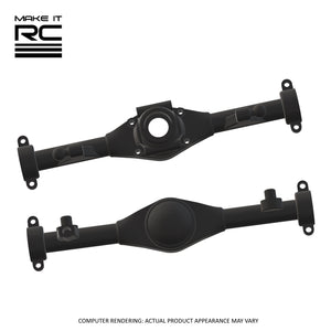 Make It RC MA10 Axle Assembly Housing Pieces Set: 53mm Torque Arm (Resin)