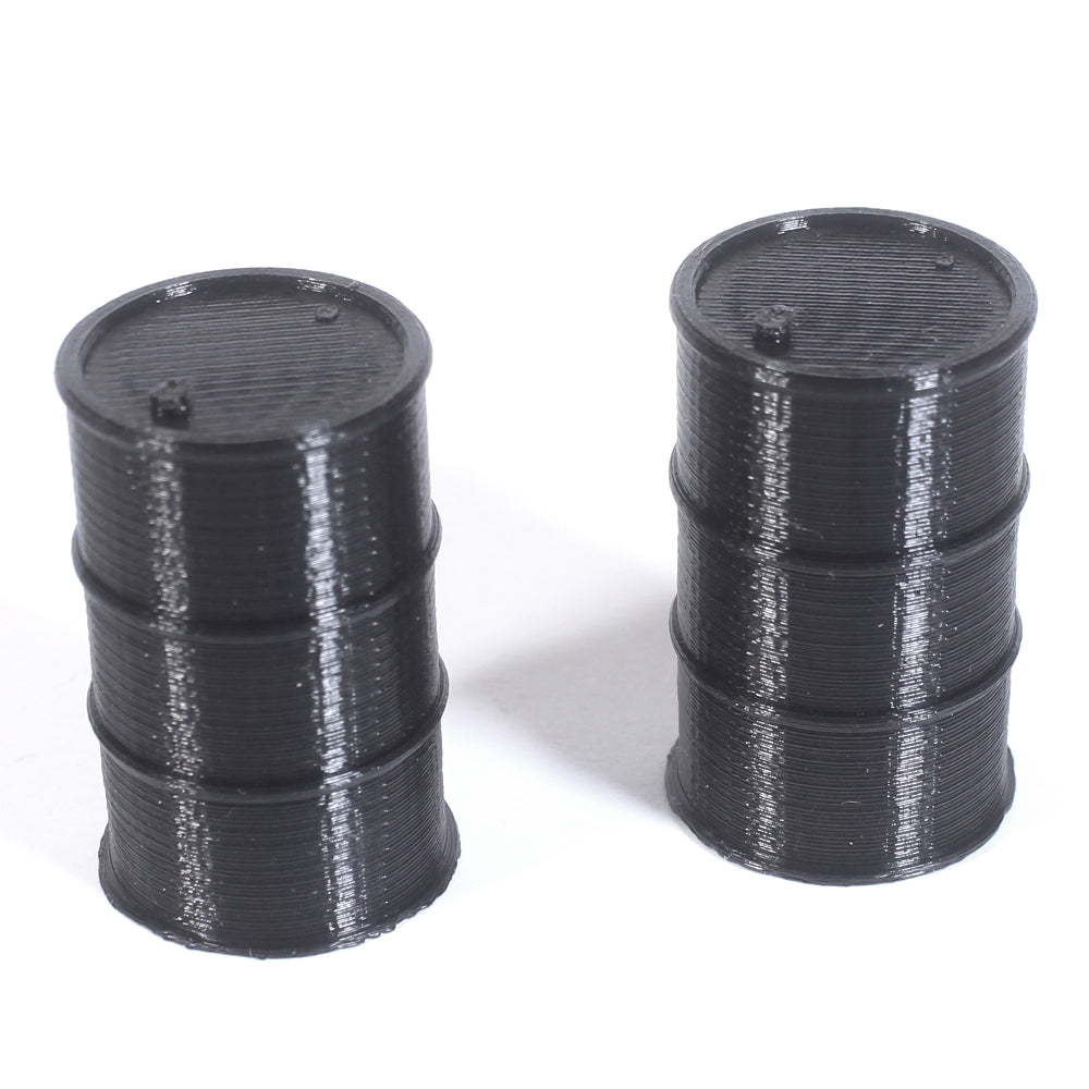 Make It RC 1/25 Scale Oil Drum (Set of 2)