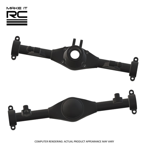 Make It RC MA10 Axle Assembly Housing Pieces Set: 53mm 3-Link (Resin)