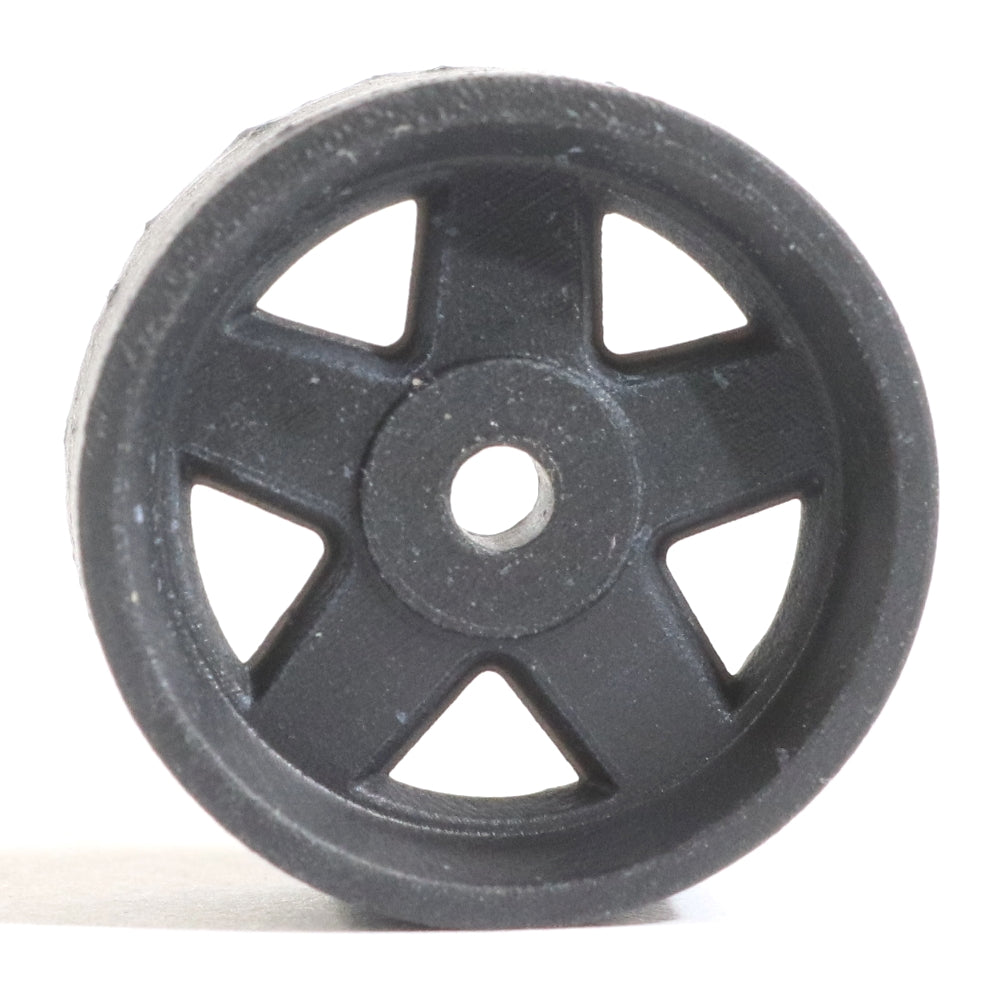 Make It RC STZ 1/24.5 Scale Wheel 18x9mm M2 Shaft 4x1mm Hex OS -1mm BS 3.5mm