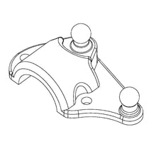 MC01 Replacement Upper Steering Knuckle
