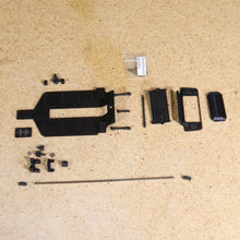 FFR SC1 Chassis Kit V1 3 Link Rear Suspension (Black PLA Chassis)