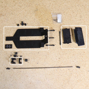 FFR SC1 Chassis Kit V1 3 Link Rear Suspension (No FDM 3D Printable Chassis Pieces)