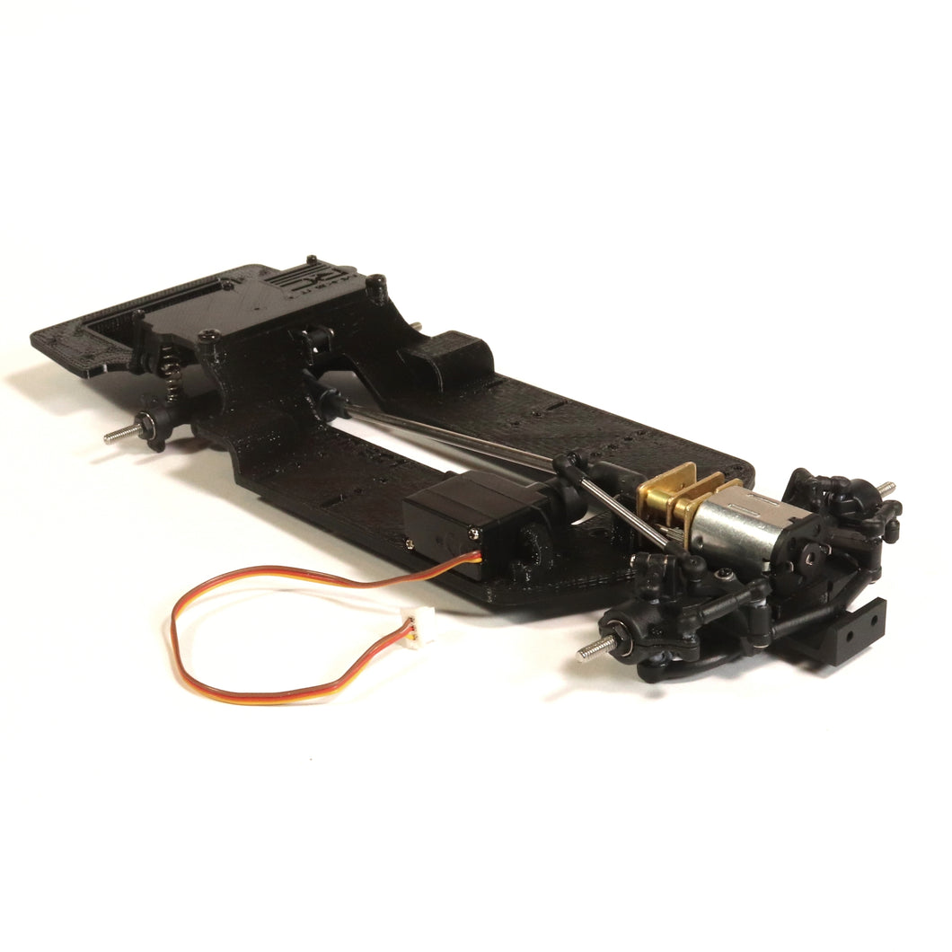 Make It RC FFR SC1 Chassis with MC01 Front Suspension and MA10 Axle Assembly (ARTR)