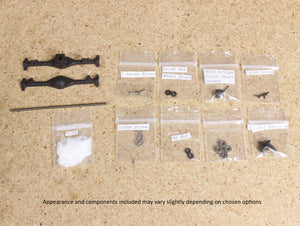 Make It RC 1/25 Scale MA10 Axle Assembly 57mm (kit)