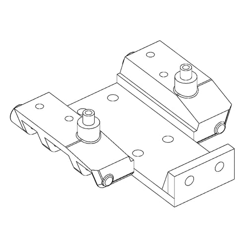 (Standard width) Base Piece for MC01 and MS01 Front Suspension and Steering Assemblies