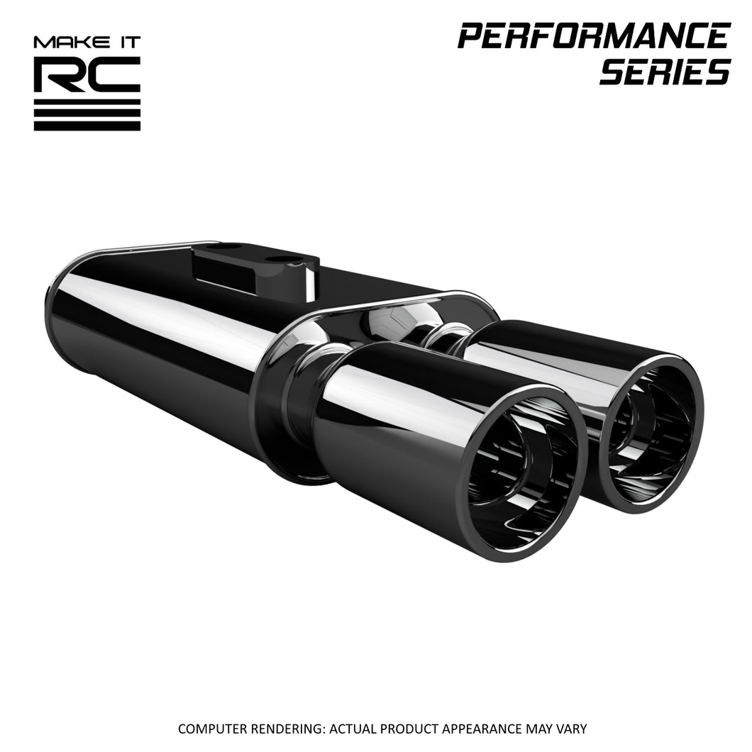 Make It RC RE01 Racing Exhaust Tail Pipe for 1/10 Scale RC Car and Truck