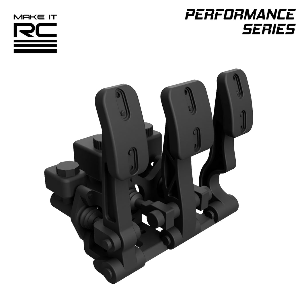 Make It RC RP-1 Racing Pedals for 1/10 Scale RC Car and Truck (STL Download)