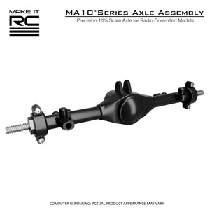 Make It RC 1/25 Scale MA10 Axle Assembly 53mm (assembled)