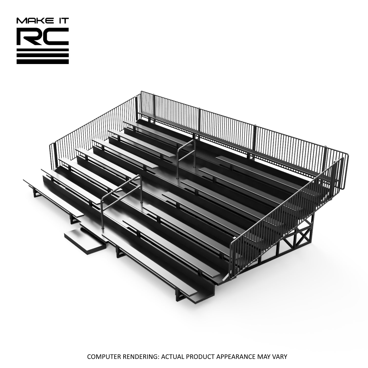 Make It RC 1/24-1/25 Scale Race Track Bleachers (STL Download)