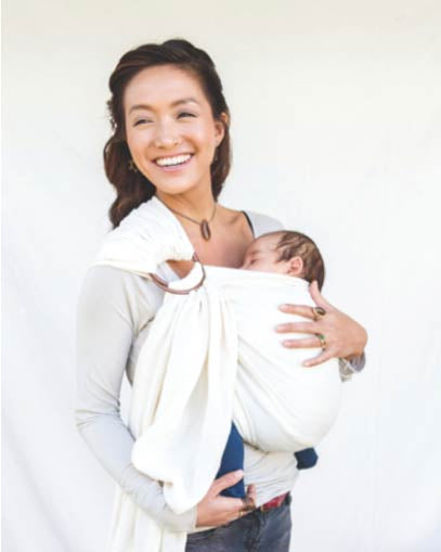Mesh ring sling 100% organic - CREAM - back in stock mid November