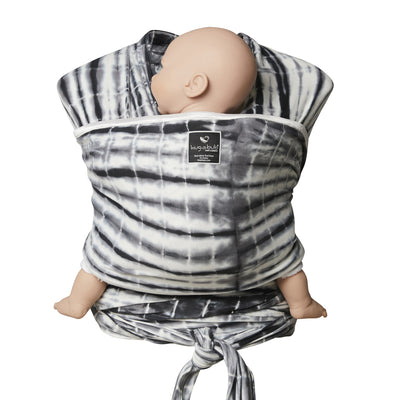 Lightweight wrap carrier 100% organic carrier - watercolour grey & FREE BABY EINSTEIN: Baby Beethoven - Symphony of Fun DVD (rrp $22.95)