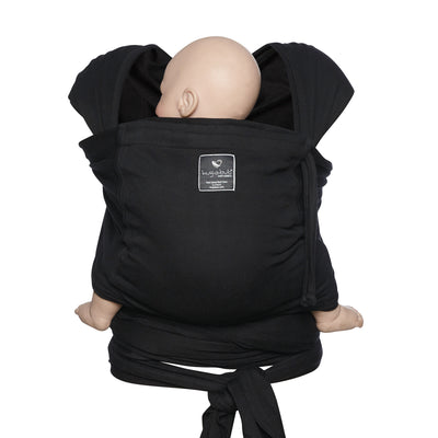 Pocket wrap carrier 100% organic - black - back in stock mid October