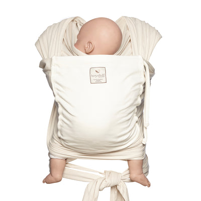 Pocket wrap carrier 100% organic - cream/vanilla & FREE BABY EINSTEIN: Baby Beethoven - Symphony of Fun DVD (rrp $22.95)