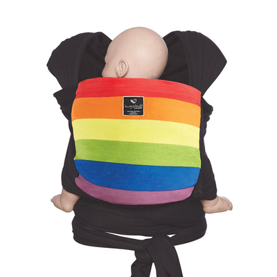 Pocket wrap carrier 100% organic - rainbow