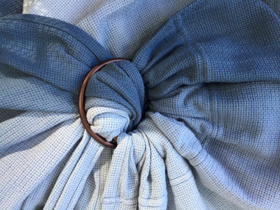 NEW! Mesh ring sling 100% organic - ombré dusk & FREE BABY EINSTEIN: Baby Beethoven - Symphony of Fun DVD (rrp $22.95)