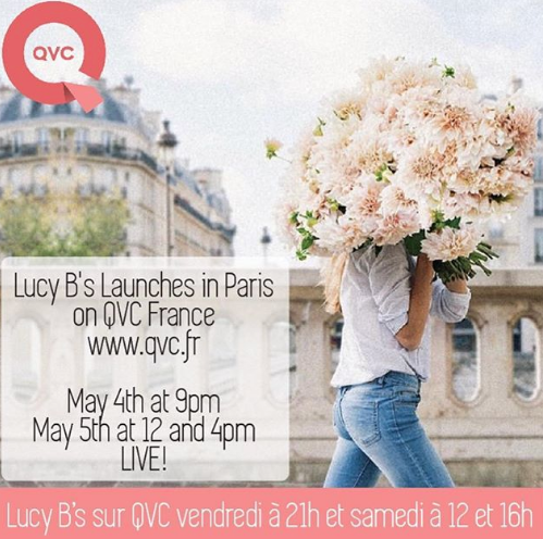 Paris Bound! by QVC popular demand..