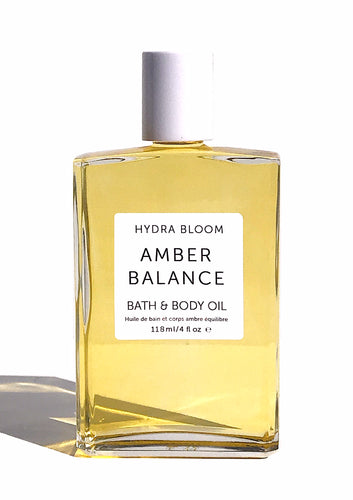 Amber Balance Body and Bath Oil- Organic