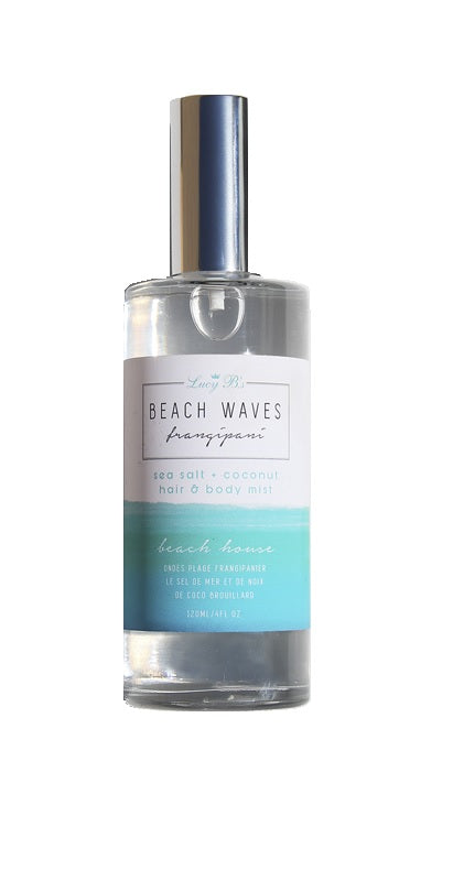 Beach Waves Sea Salt Hair & Body Mist - Frangipani | Lucy B's