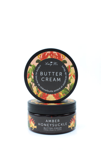 Body Butter - Egyptian Amber & Honeysuckle | Lucy B's