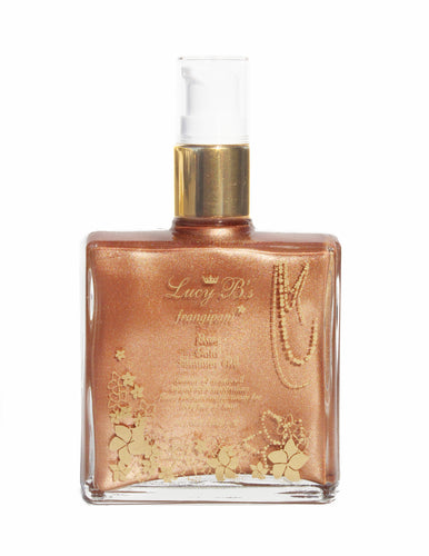 Rose Gold Shimmer Oil - 100ml | Lucy B's