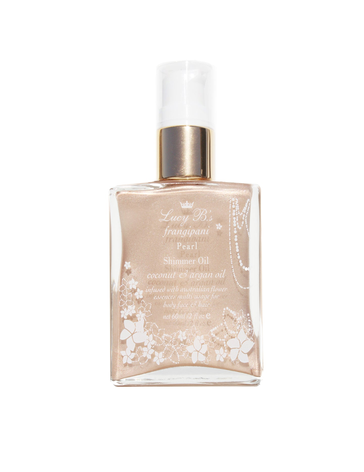 Pearl Shimmer Oil - 60ml | Lucy B's