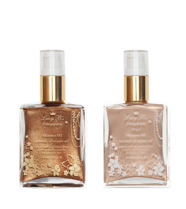 Bronzer & Pearl 30ml Shimmer Oil Gift Set | Lucy B's