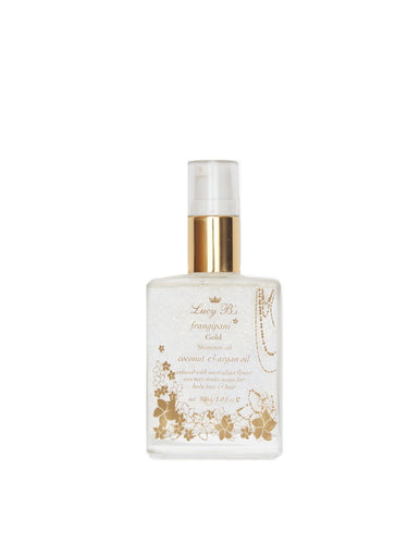 Gold Shimmer Oil - 30ml | Lucy B's