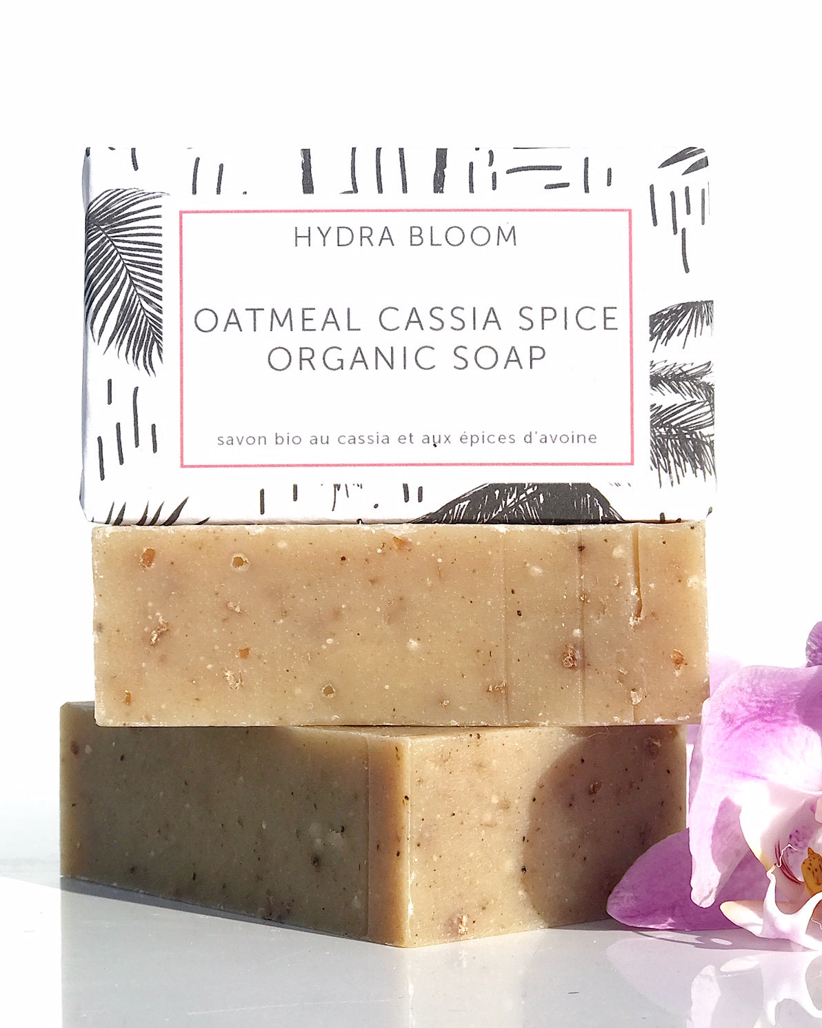 Hydra Bloom Oatmeal Cassia Spice Organic Soap | Lucy B's