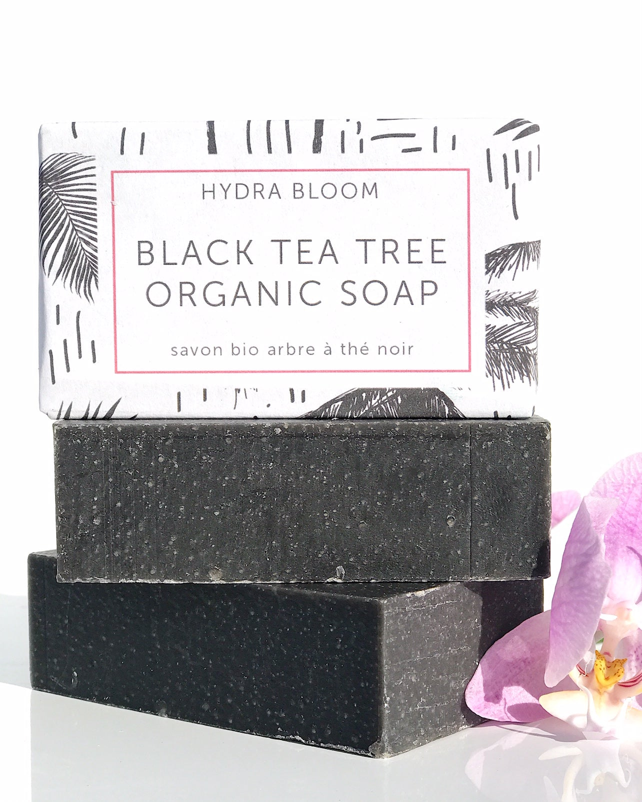 Hydra Bloom Black Tea Tree Organic Soap | Lucy B's