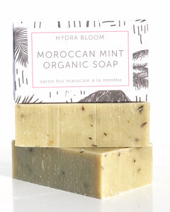 Hydra Bloom Moroccan Mint Organic Soap | Lucy B's