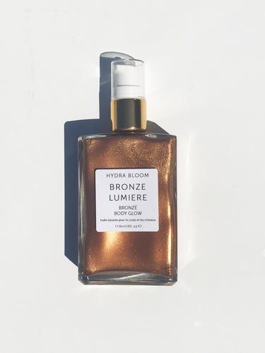Hydra Bloom Bronzing Shimmer Oil - 118ml | Lucy B's