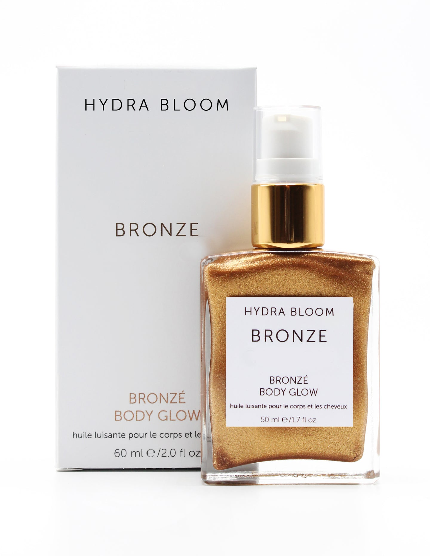 Hydra Bloom Bronzing Shimmer Oil - 60ml | Lucy B's