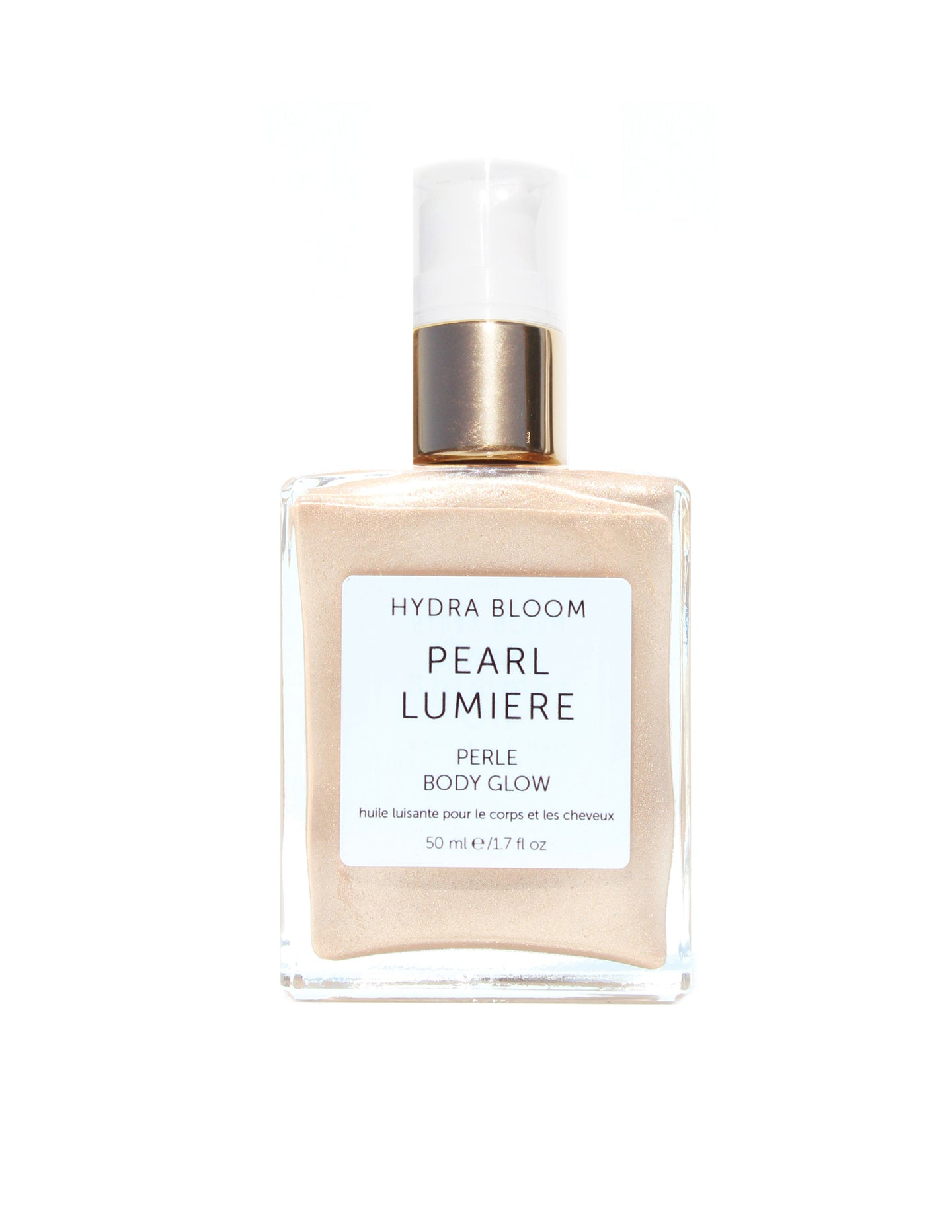 Hydra Bloom Pearl Shimmer Oil - 60ml | Lucy B's