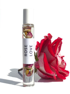Rose Love Organic Perfume Roll-on
