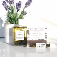 Lavender Chillax Summer Skincare & Scent bundle