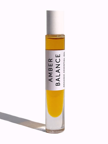 Amber Rose Rollerball Perfume Oil- Balance