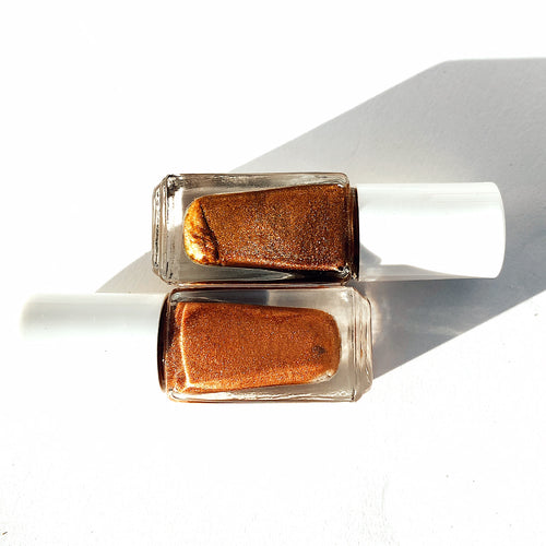 Samples Bronze and Rosegold Lumiere ShimmerOils
