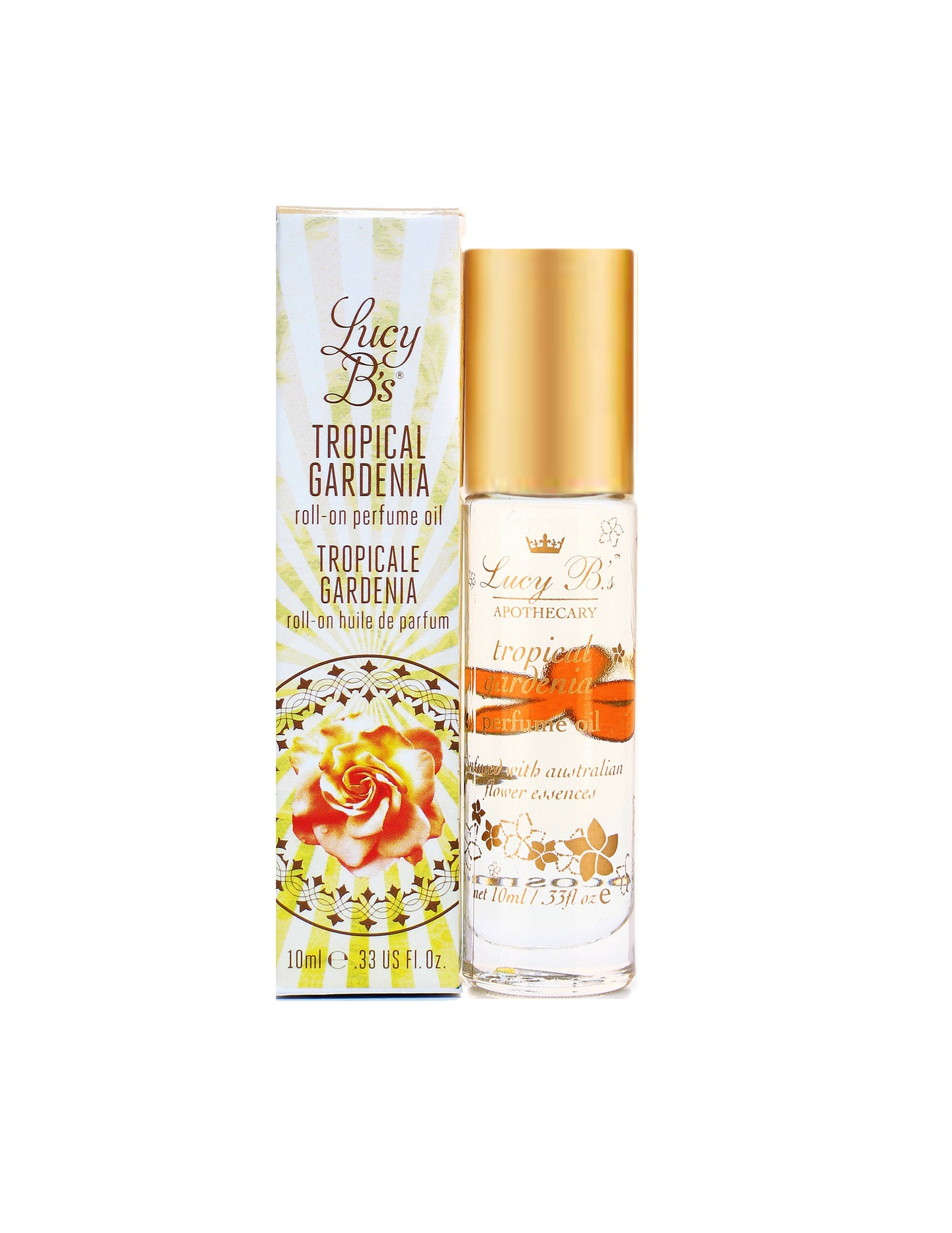 Roll-on Perfume Oil - Tropical Gardenia | Lucy B's