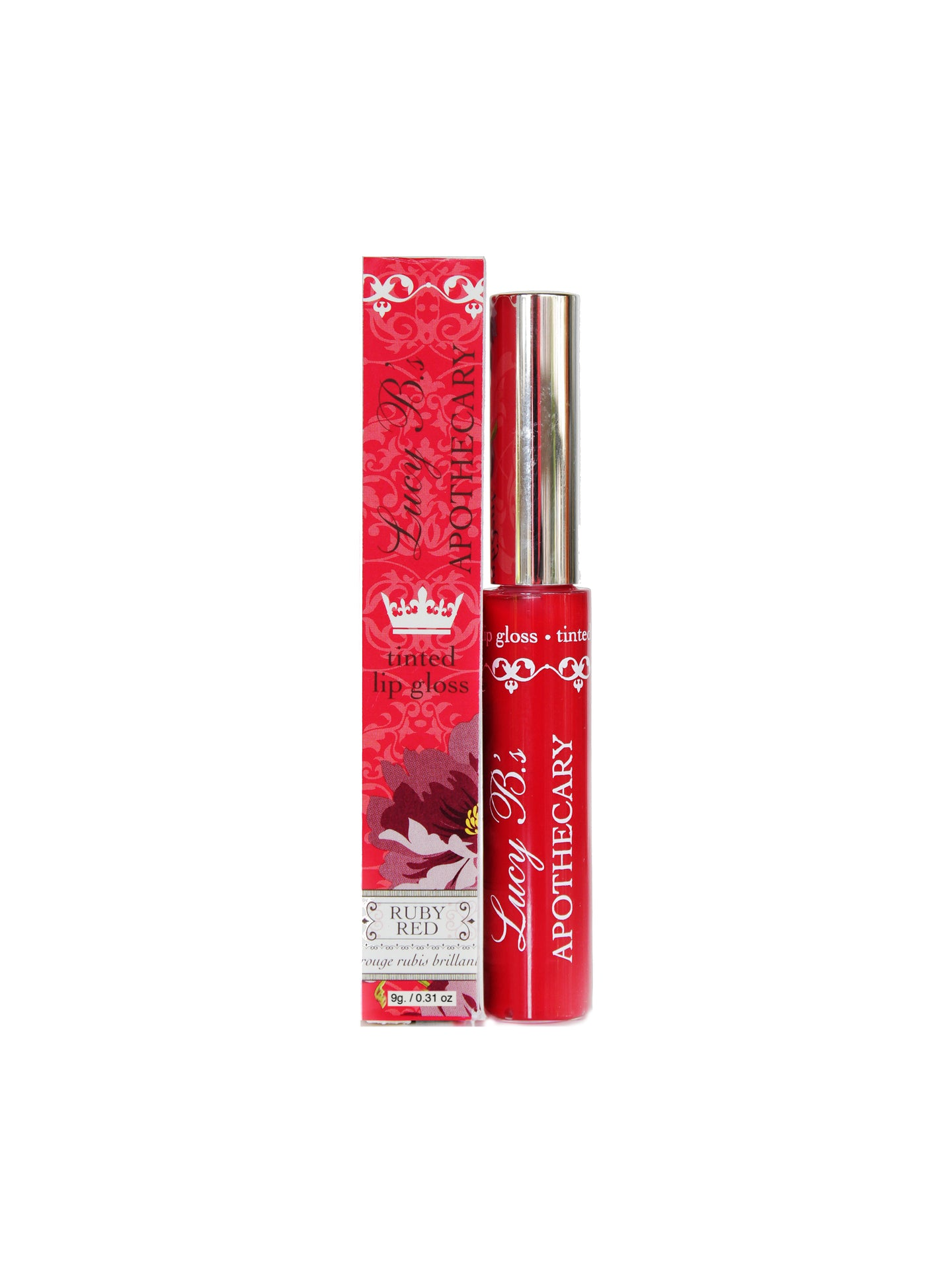 Tinted Lip Gloss - Ruby Red | Lucy B's
