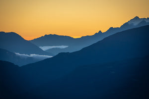 Golden Sunset on the Andes